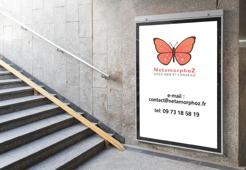 Commment contacter NetamorphoZ, agence web à Arras, Lens, Douai, Béthune