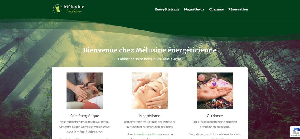 Site internet du Cabinet de Réflexologie plantaire d'Arras